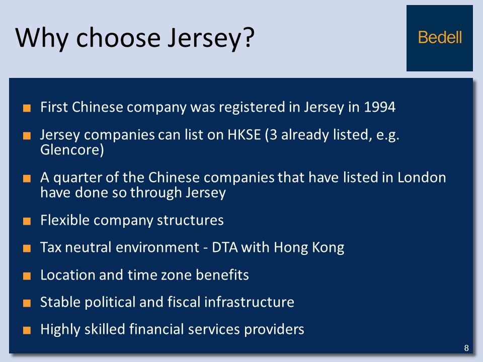 Why choose Jersey.
