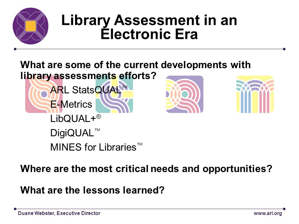 13 Libraries English LibQUAL+® Version 4000 Respondents QUAL QUAN QUAL QUAN QUAL PURPOSE DATA ANALYSIS PRODUCT/RESULT Describe library environment; build theory of library service quality from user perspective Test LibQUAL+® instrument Refine theory of service quality Refine LibQUAL+® instrument Test LibQUAL+ ® instrument Refine theory Unstructured interviews at 8 ARL institutions Web-delivered survey Unstructured interviews at Health Sciences and the Smithsonian libraries E-mail to survey administrators Web-delivered survey Focus groups Content analysis: (cards & Atlas TI) Reliability/validity analyses: Cronbachs Alpha, factor analysis, SEM, descriptive statistics Content analysis Reliability/validity analyses including Cronbachs Alpha, factor analysis, SEM, descriptive statistics Content analysis Vignette Re-tooling Iterative Emergent 2000 2005 700 Libraries English, Dutch, Swedish, German LibQUAL+® Versions 160,000 anticipated respondents LibQUAL+® Project Case studies 1 Valid LibQUAL+® protocol Scalable process Enhanced understanding of user-centered views of service quality in the library environment 2 Cultural perspective 3 Refined survey delivery process and theory of service quality 4 Refined LibQUAL+® instrument 5 Local contextual understanding of LibQUAL+® survey responses 6