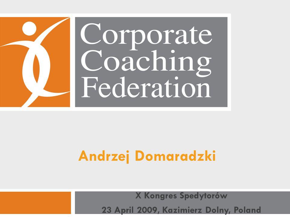 Andrzej Domaradzki X Kongres Spedytorów 23 April 2009, Kazimierz Dolny, Poland