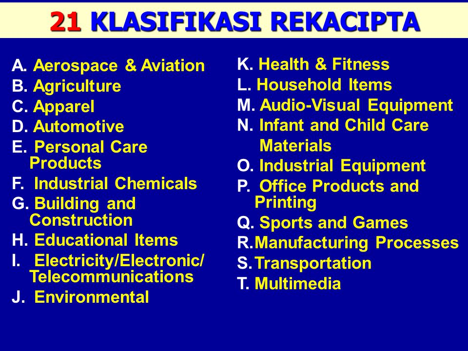 1.Elektronik & Mekanikal (Electronic & Mechanical) (Electronic & Mechanical) 2. Teknologi Biasa & Kejuruteraan (General Technology & Engineering) Keju
