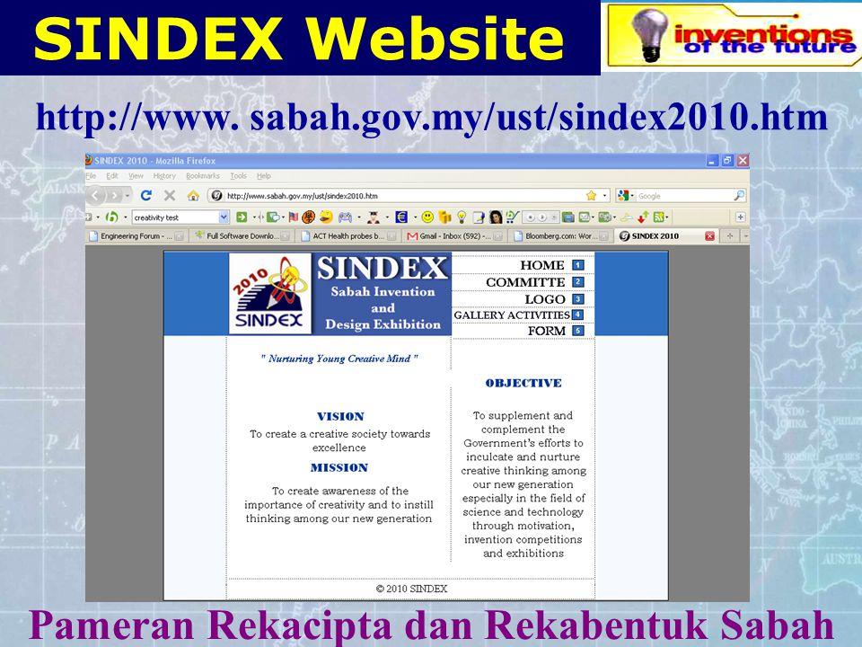 Sabah INvention & Design EXhibition S IN D EX SINDEX Pameran Rekacipta dan Rekabentuk Sabah