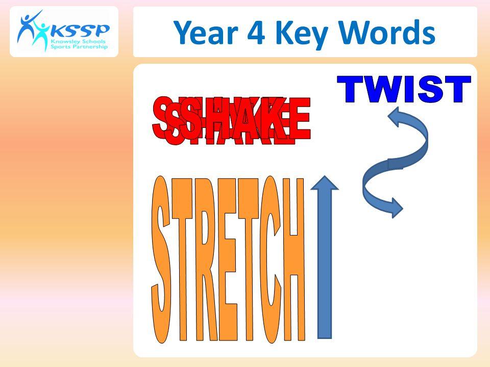 Year 4 Key Words