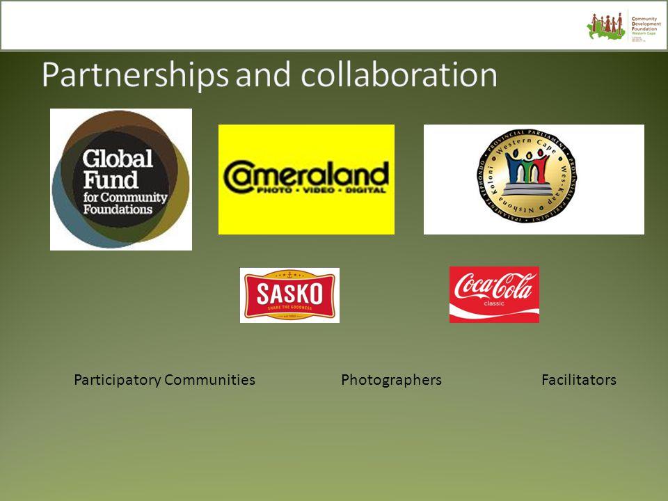 Participatory CommunitiesPhotographersFacilitators