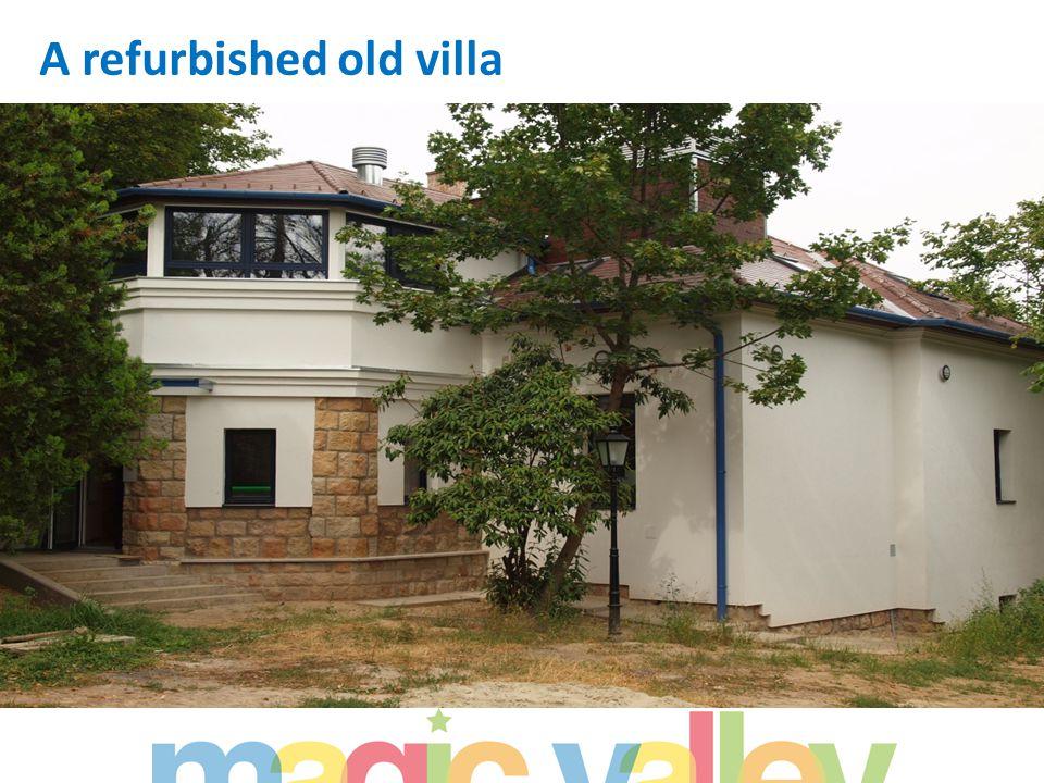 A refurbished old villa