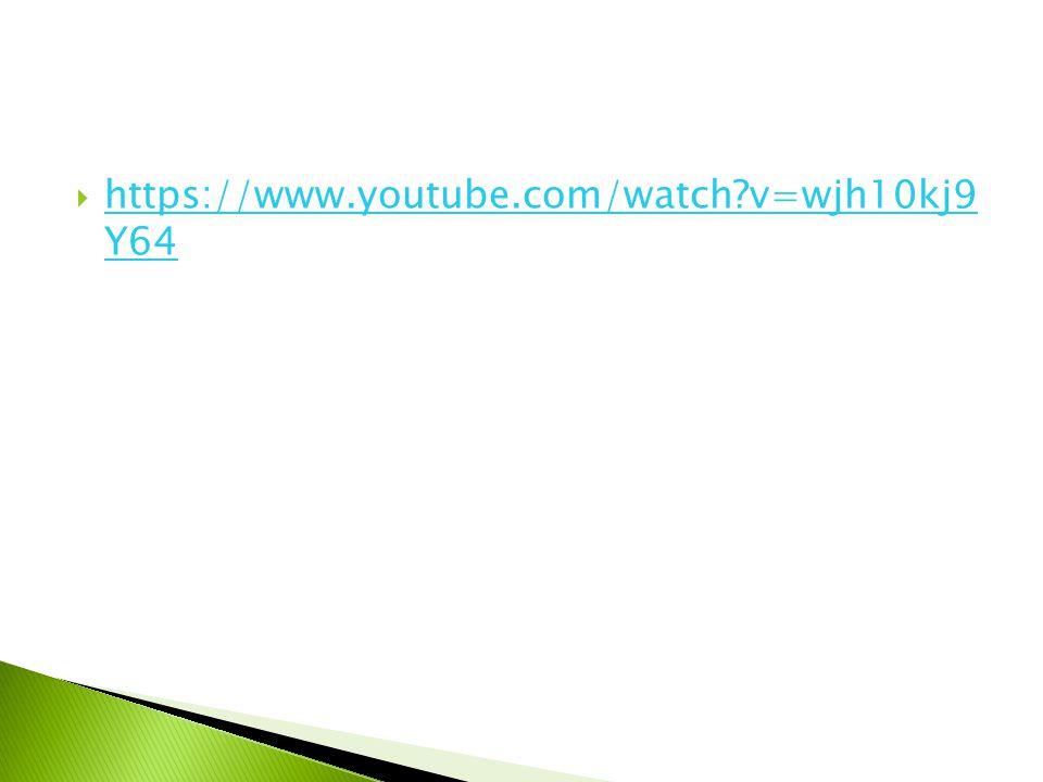 https://www.youtube.com/watch v=wjh10kj9 Y64 https://www.youtube.com/watch v=wjh10kj9 Y64