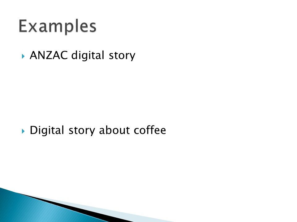  ANZAC digital story  Digital story about coffee