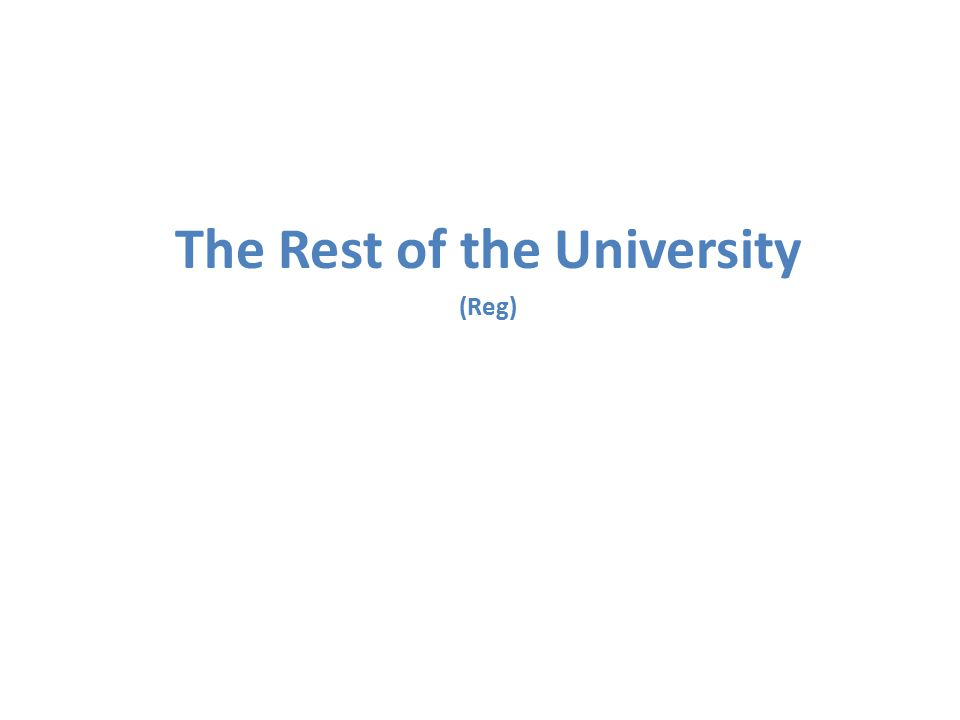 The Rest of the University in the Past: It was isolated, Ivory Tower It was tradition bound, slow to adapt There was an attitude of complacency ..because that's the way we've always done it. ContEd: Between Two Worlds Workshop Upgrades to IT systems were not high priority and often didn't happen.