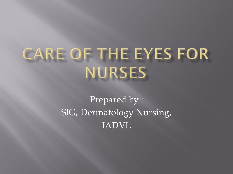 Prepared by : SIG, Dermatology Nursing, IADVL