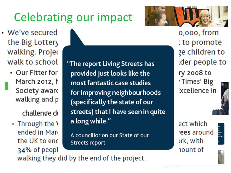 Celebrating our impact