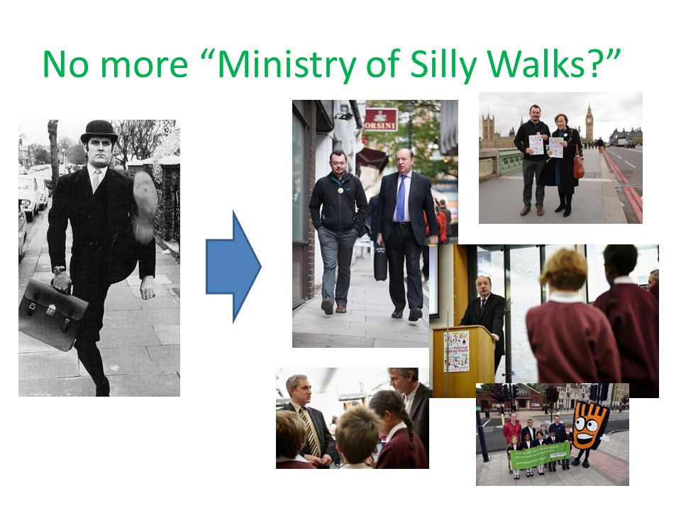 No more Ministry of Silly Walks?