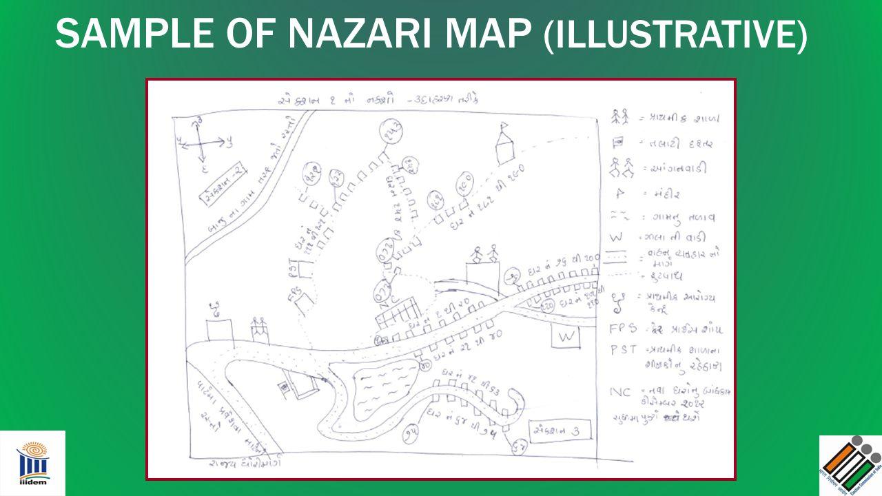 SAMPLE OF NAZARI MAP (ILLUSTRATIVE)