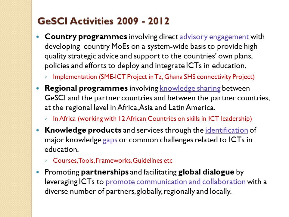Accelerating 21st Century Education (ACE) in Kenya Accelerating 21st Century Education (ACE) in Kenya