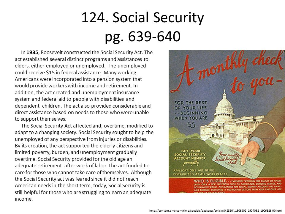 124.Social Security pg.