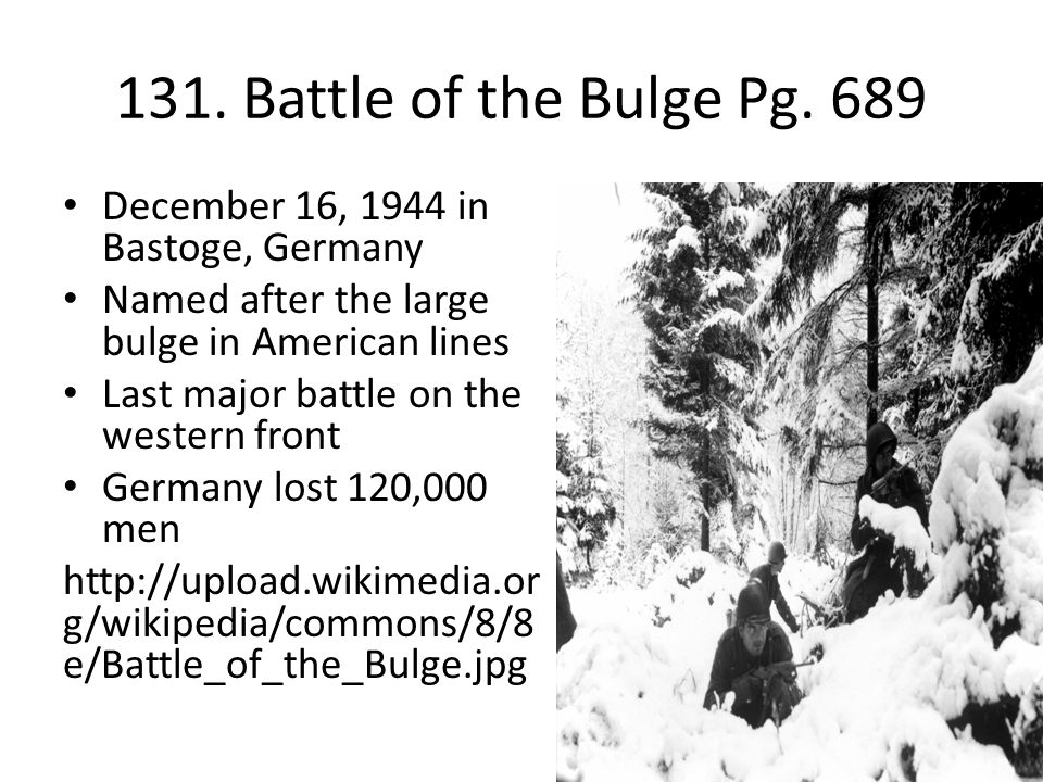 131.Battle of the Bulge Pg.