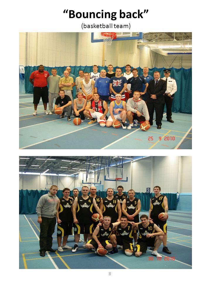 Bouncing back (basketball team) 8