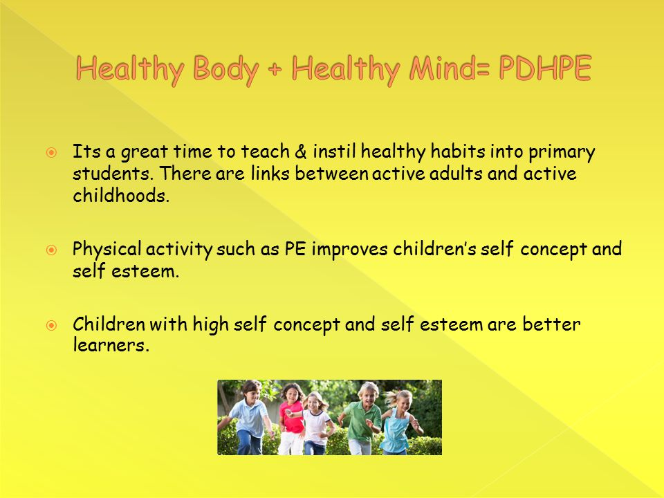  Its a great time to teach & instil healthy habits into primary students.