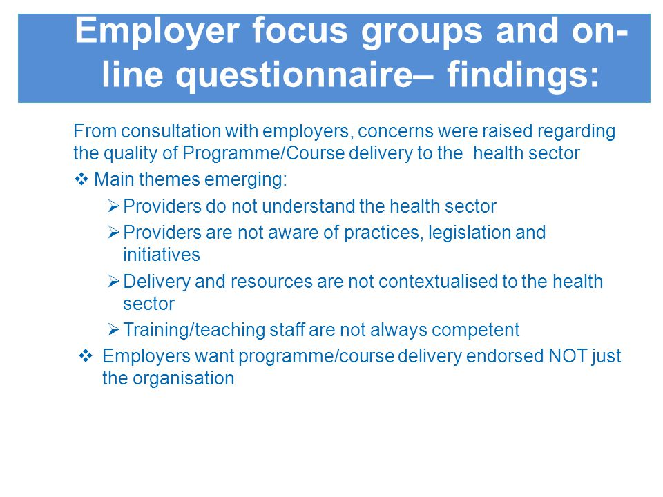 Provides assurance that the training purchased is high quality and value for money Saves employers time – QM short cuts the research required to find the quality of provision needed Ensures the delivery of skills and knowledge required is health sector specific Contributes to productivity and improved patient care Benefits of the Quality Mark for employers and commissioners: In light of the recently published reports by Robert Francis QC, Sir Bruce Keogh and Professor Don Berwick, all of which emphasises the role of students and learners in relation to the quality of care for patients, the importance of assuring the quality of education delivery against standards in the Quality Mark will be highly welcomed. Jo Woolgar Head of Quality & Intelligence Health Education Kent, Surrey & Sussex