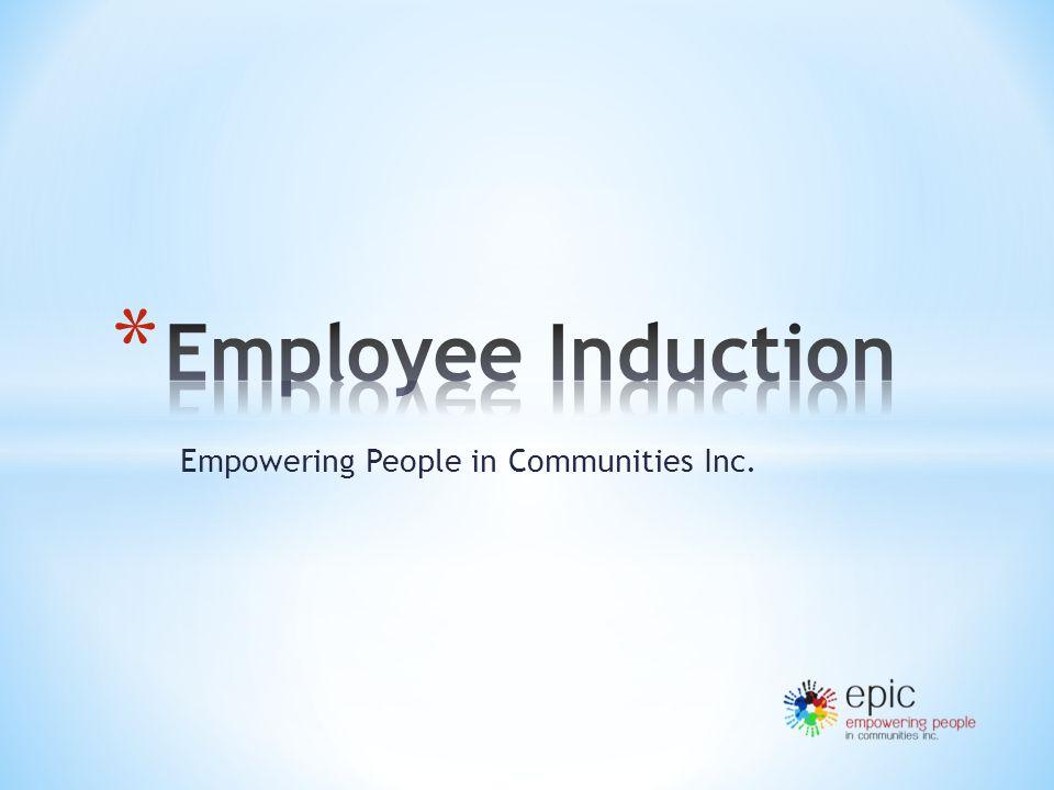 Empowering People in Communities Inc.