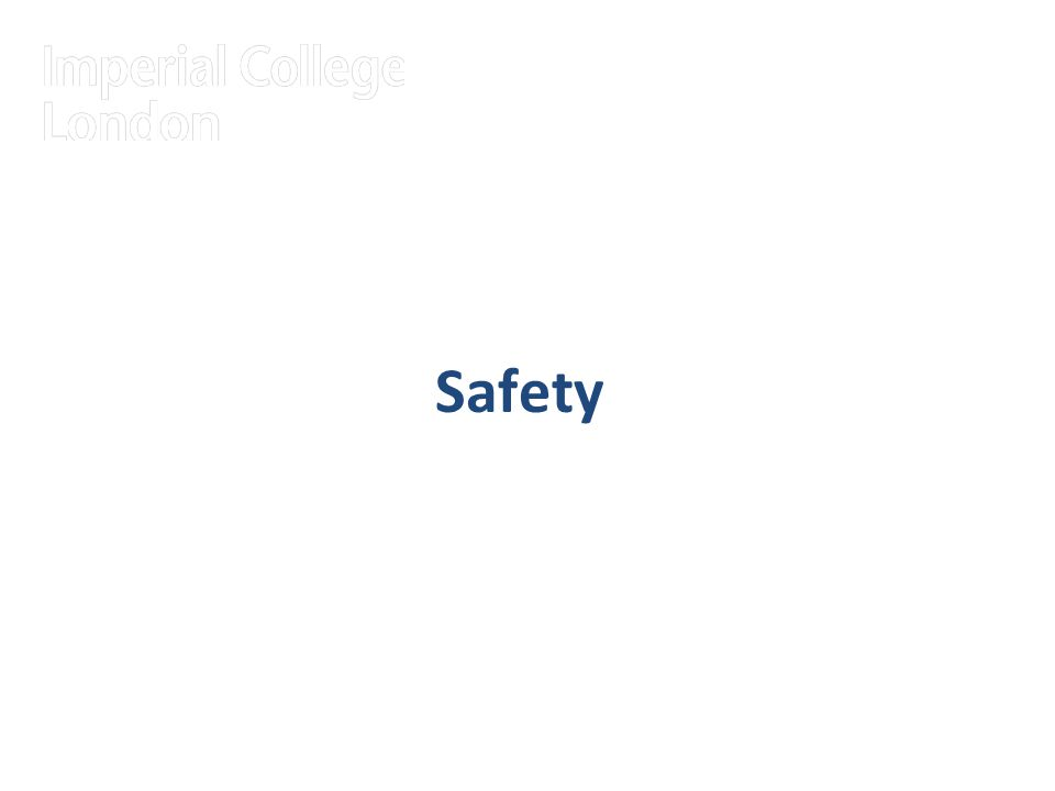 19 Safety