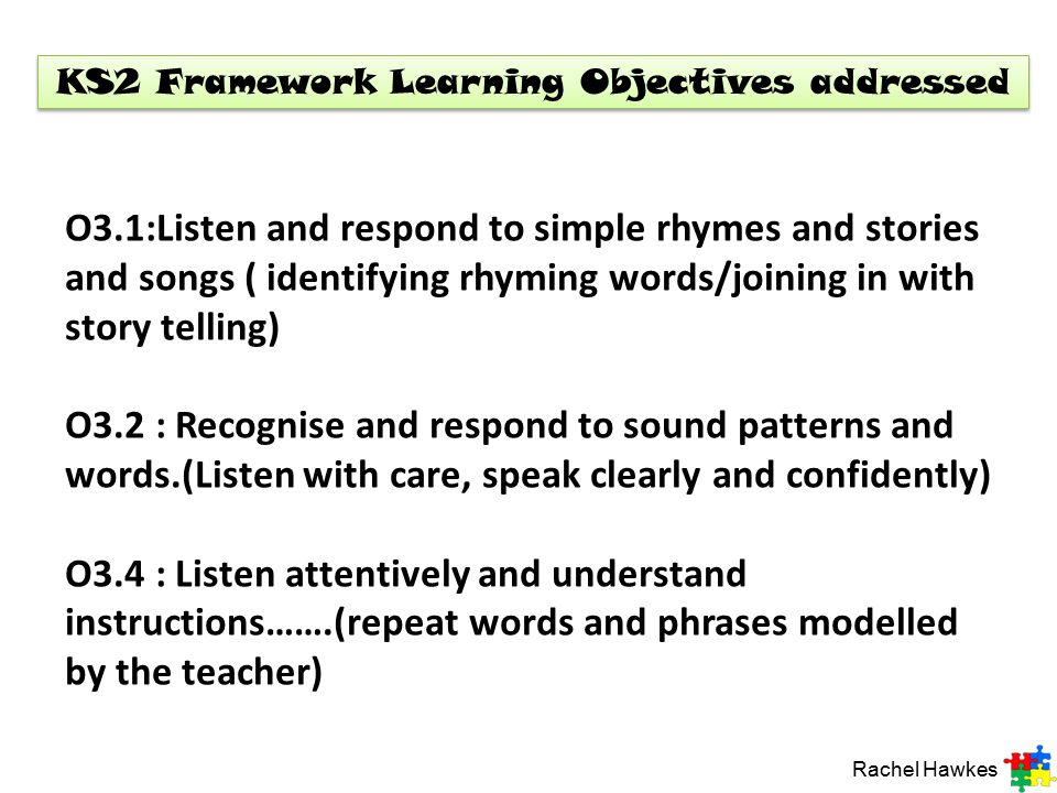 3. You will need multi-link for each child for this activity. Encourage the children to listen again and to pass on a piece of multi-link to the child