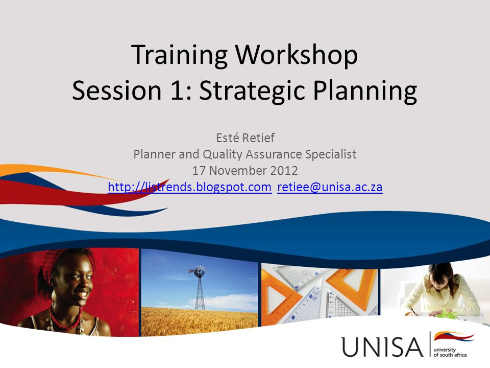 What is this workshop about? It is about strategic planning The Village Group