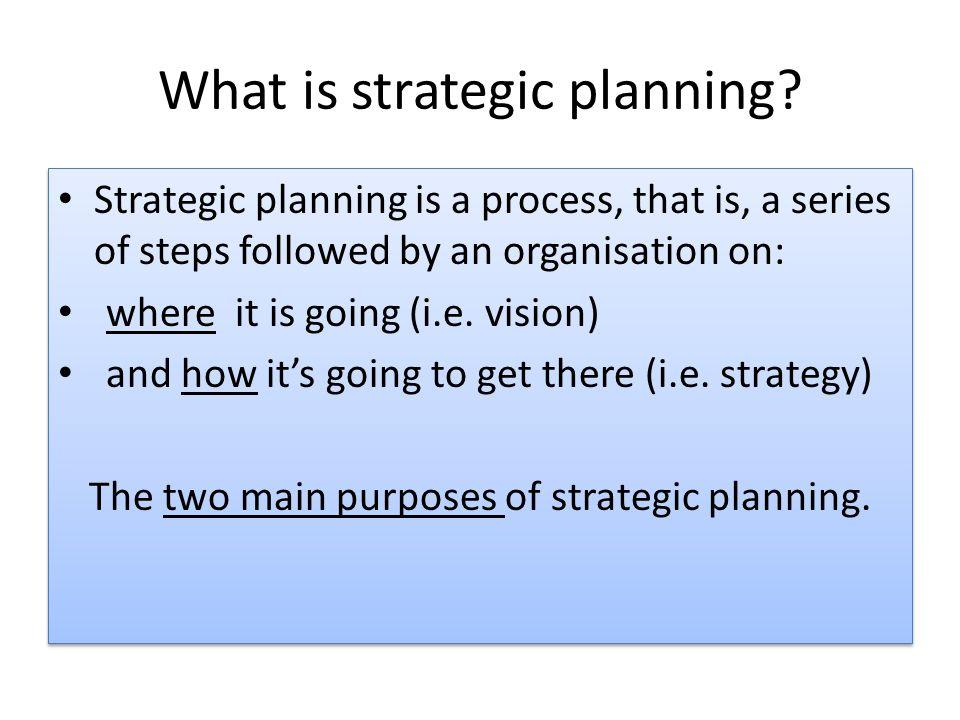 Strategic direction Strategy formulation Part 3 & 4