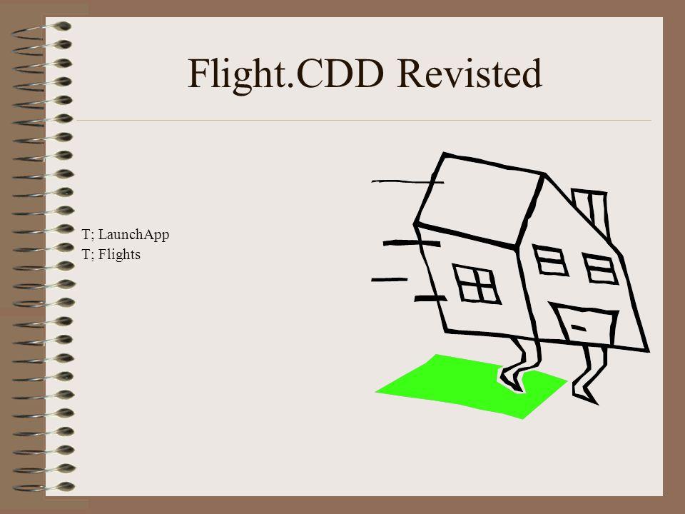 Flight.CDD Revisted T; LaunchApp T; Flights