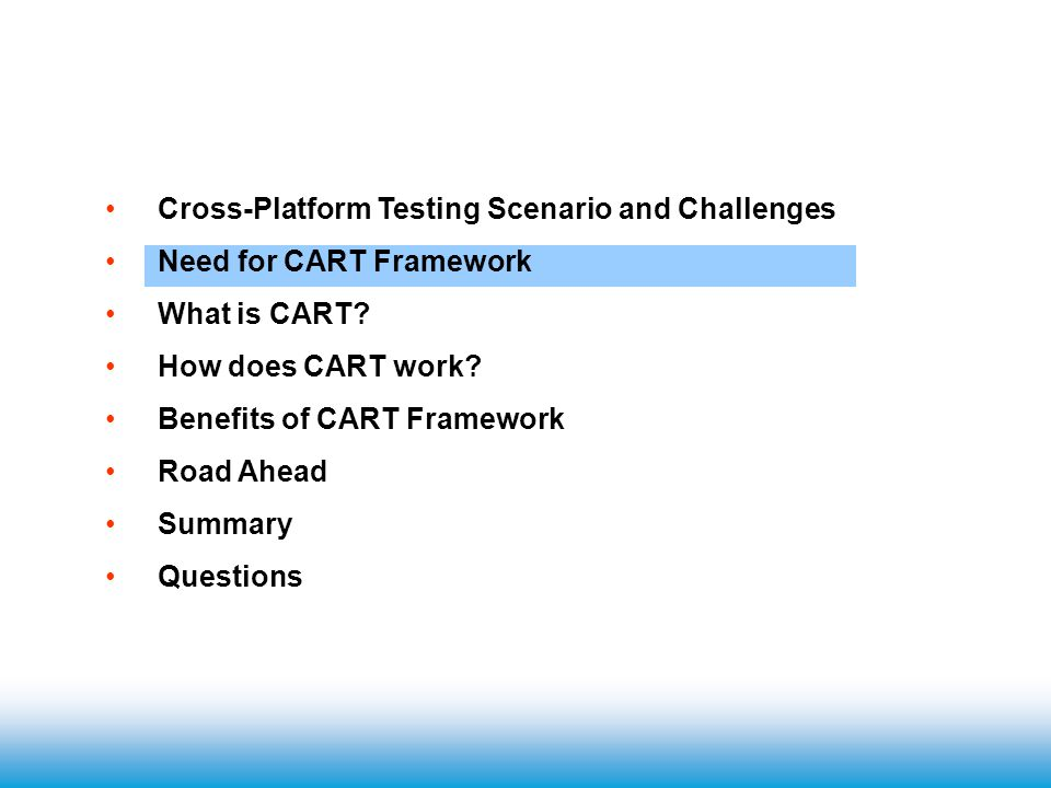 Typical Testing Steps Test Planning - determine applications, priority level and schedule.