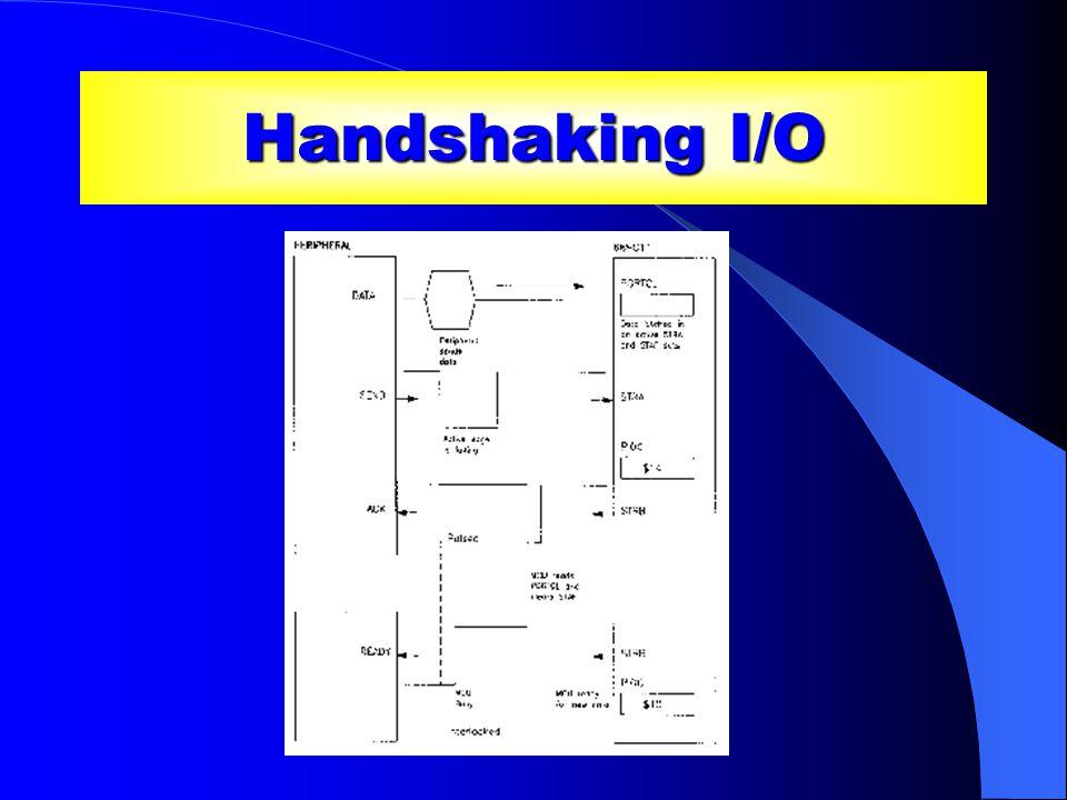 Handshaking I/O