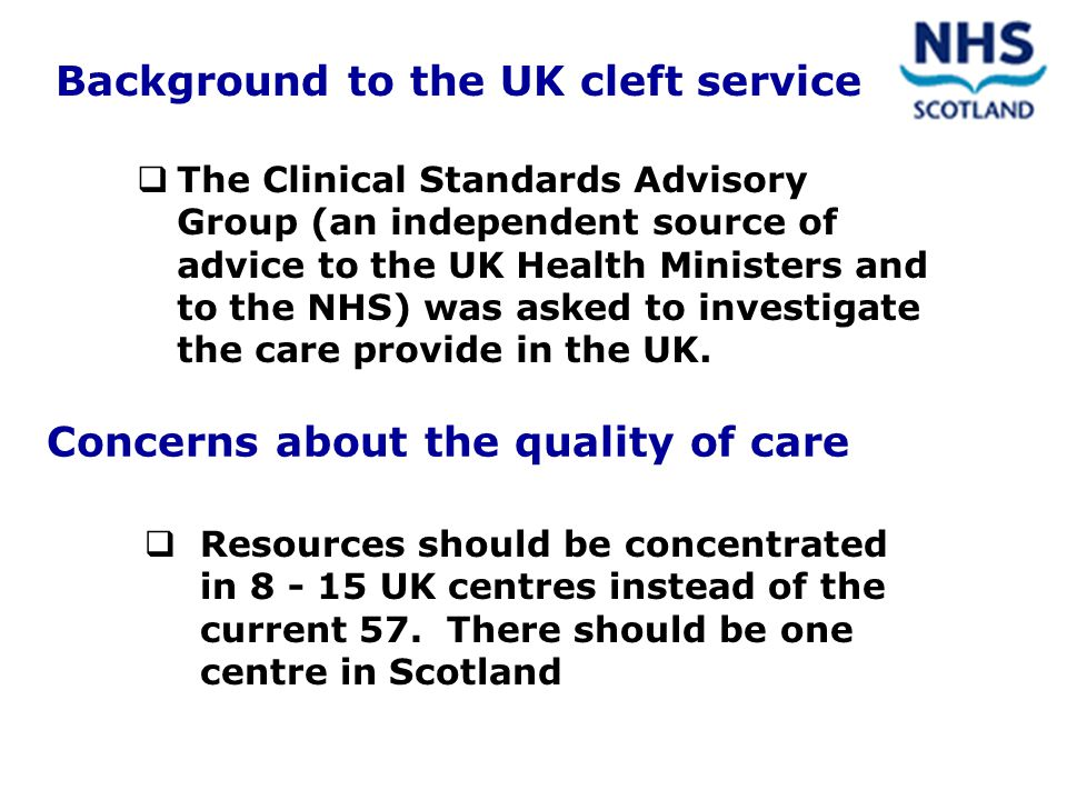 Between 70 and 120 live births per year The Scottish solution