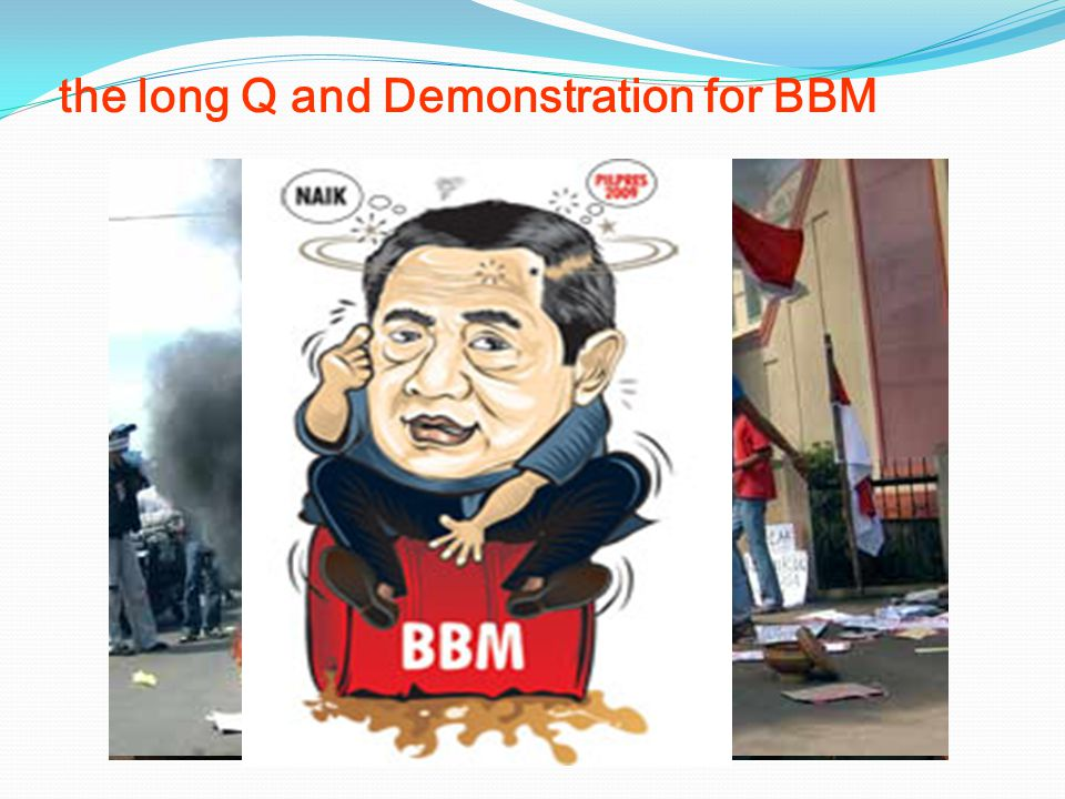 the long Q and Demonstration for BBM