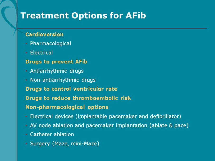Treatment Options for AFib Cardioversion