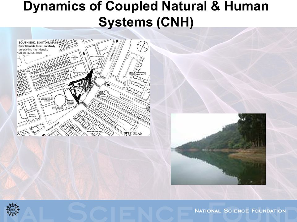 Dynamics of Coupled Natural & Human Systems (CNH)