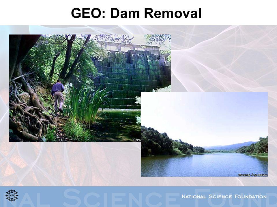 GEO: Dam Removal