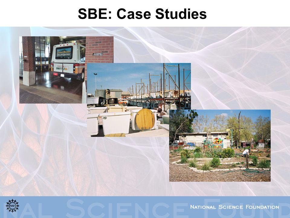 SBE: Case Studies