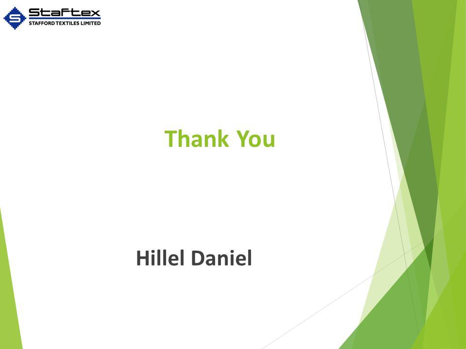 Thank You Hillel Daniel