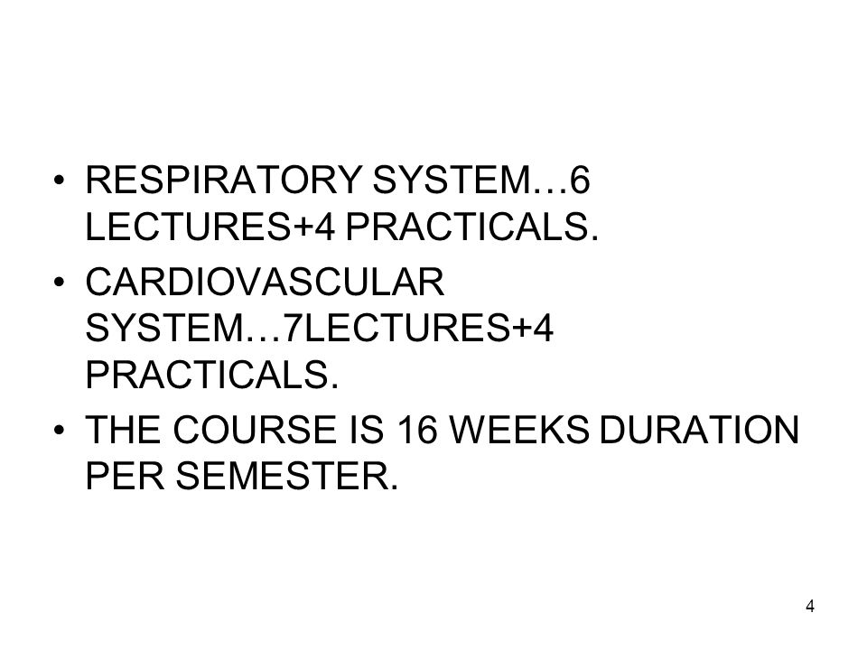5 ACTIVITY IN HISTOLOGY LABORATORY GENERAL HISTOLOGY & CONCERNED SYSTEMIC HISTOLOGY …DURATION OF EACH SESSION +2 HOURS.