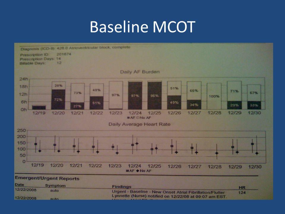 Baseline MCOT