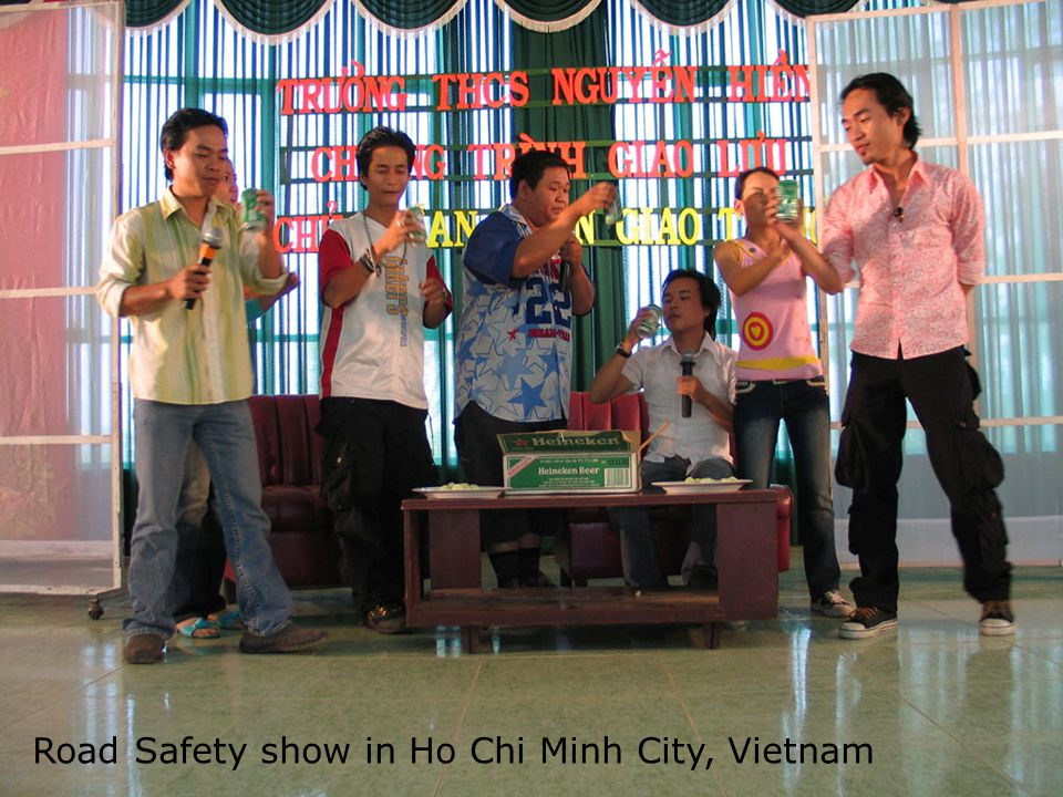 Road Safety show in Ho Chi Minh City, Vietnam