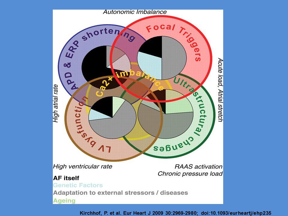Kirchhof, P. et al. Eur Heart J 2009 30:2969-2980; doi:10.1093/eurheartj/ehp235