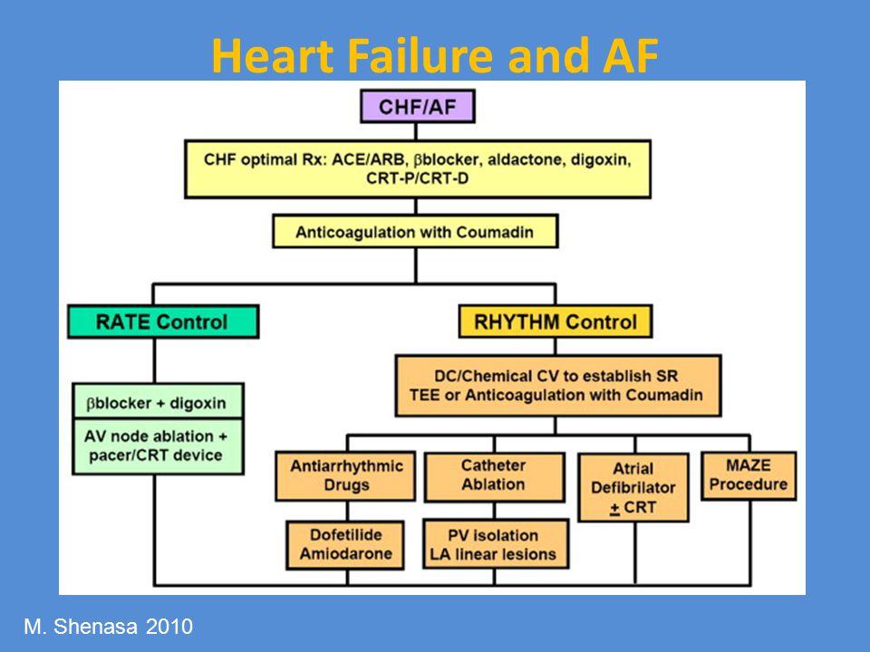 Heart Failure and AF M. Shenasa 2010