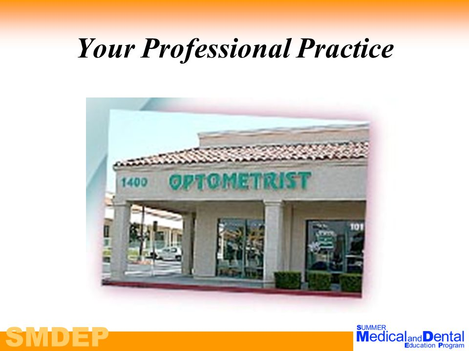 SMDEP Your Professional Practice