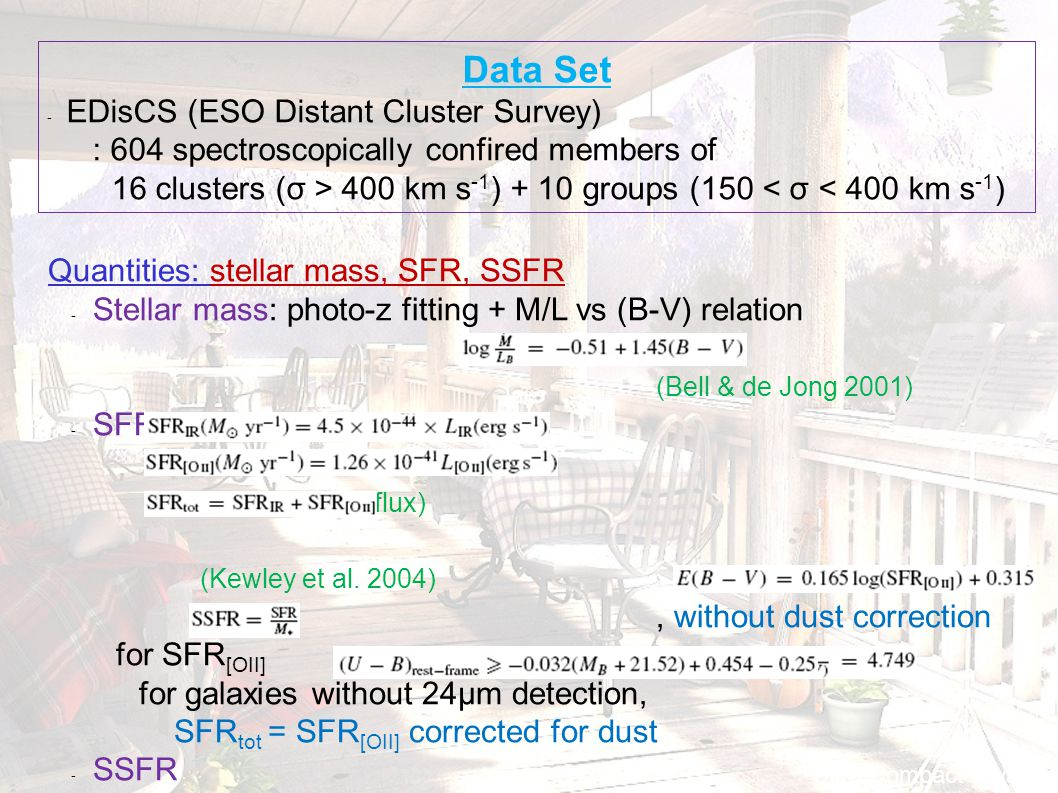 Ultra Compact Dwarf Data Set - EDisCS (ESO Distant Cluster Survey) : 604 spectroscopically confired members of 16 clusters (σ > 400 km s -1 ) + 10 gro