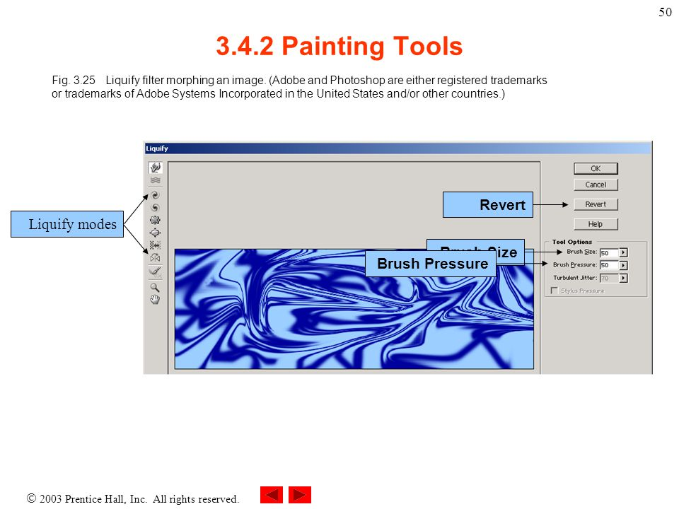  2003 Prentice Hall, Inc. All rights reserved. 50 3.4.2 Painting Tools Fig.