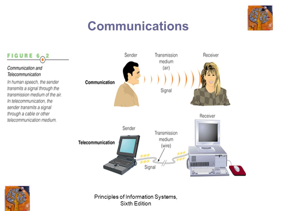Principles of Information Systems, Sixth Edition Communications