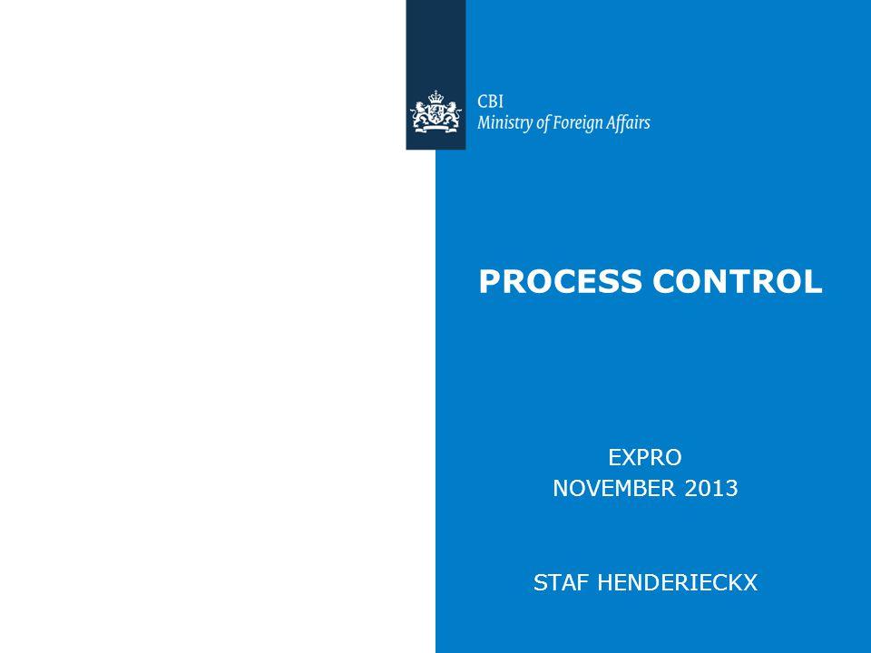 PROCESS CONTROL EXPRO NOVEMBER 2013 STAF HENDERIECKX