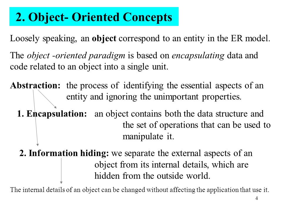 5 The current state of an object is described by one or more attributes, or instance variable.