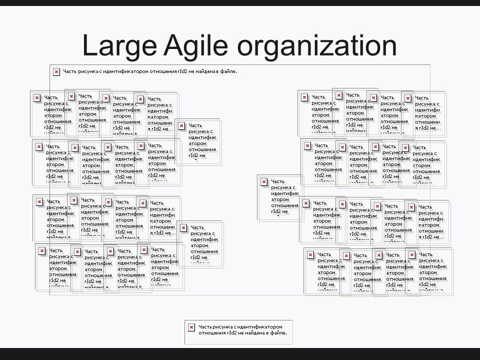 Large Agile organization