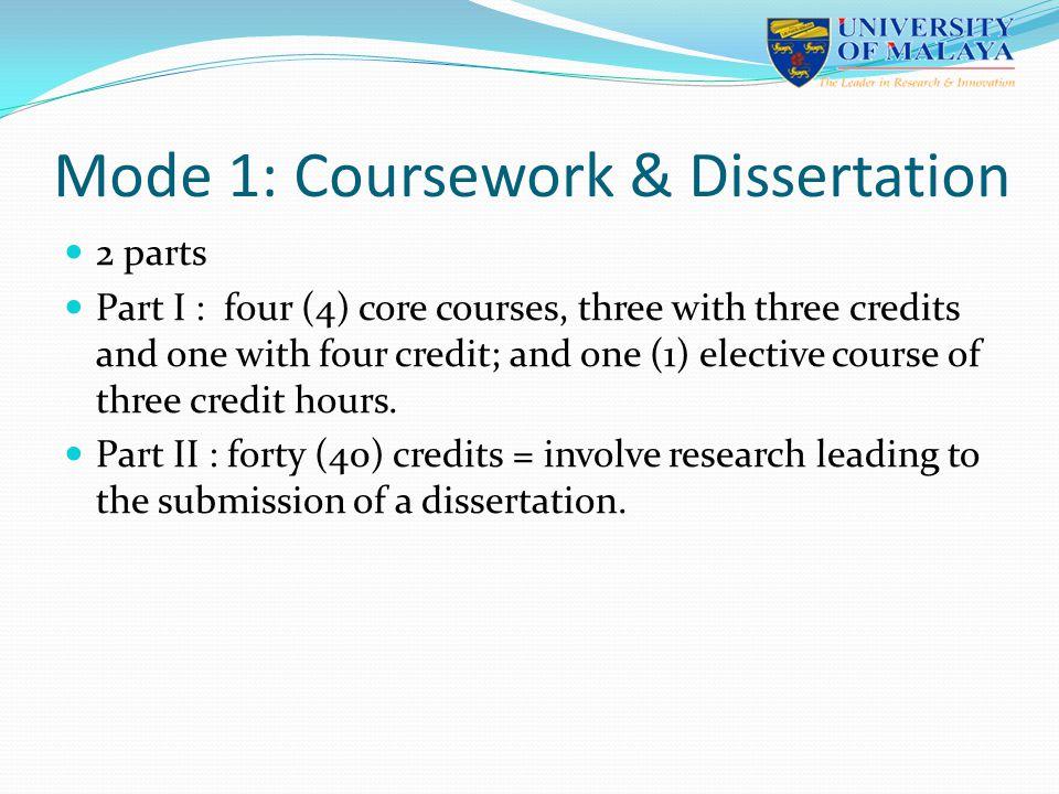 Dissertation Credit