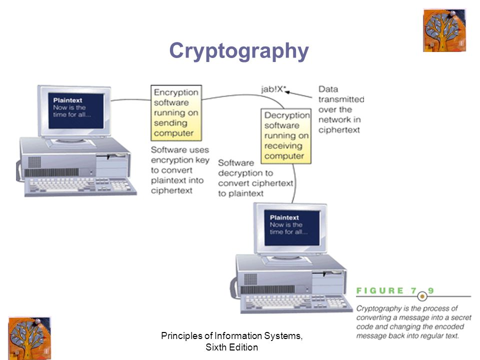 Principles of Information Systems, Sixth Edition Cryptography
